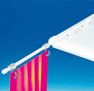 Zelfklevende bannerhouder in PVC