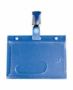 Badgehouder polycarbonaat - 86x54mm