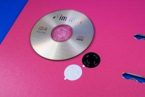CD rondjes - ø35mm - transparant