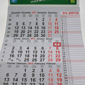 Kalender ophangsysteem L:17-50cm
