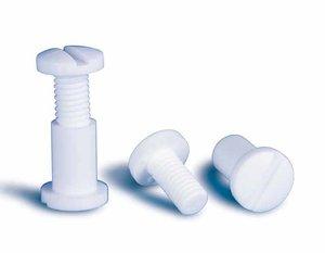 Herbruikbare montage klinknagel - ø5mm - buislengte 3,5mm - pa - wit