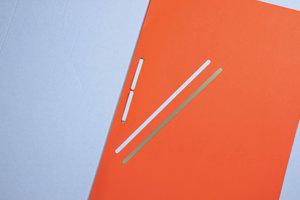 Snelhechter wit 165x4,5mm