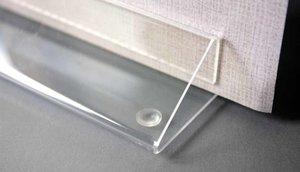 Anti-slip dop - ø8mm - Hoogte : 2,2mm