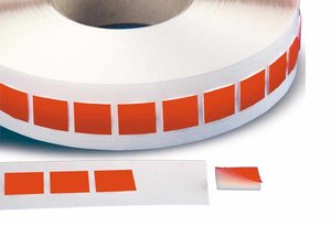 Rol 1000-pads tape.25x25mm