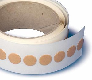 Rol 1000 pads tape. - 25mm