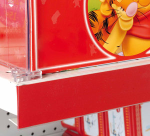 Zelfklevende prijskaarthouder - 40x1325mm-25mm