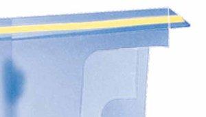 Brochurehouder flex. 1/3 a4