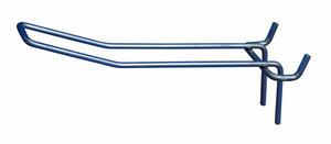 Dubbele haak in metaal voor perfowand - Tussenafstand: 45mm - 45mm-150mm