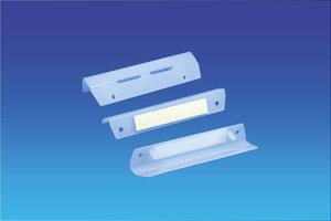 Couponhouder  - pp - capaciteit 18mm - foam tape - transparant