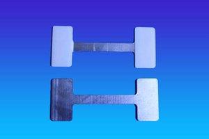 Mega twister metaal - 30x75mm - 2 permanente kleefpad
