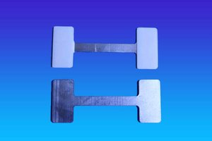 Mega twister metaal  -75mm - 2 permanente kleefpad