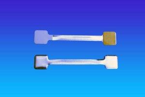 Metalen twister - 13x75mm - 1 permanente en 1 verwijderbare kleefpad