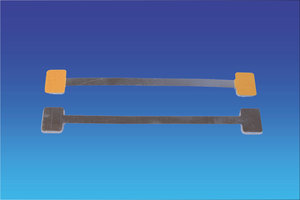 Metalen twister - 150mm - 2 permanente kleefpad