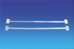 Metalen twister - lengte 250mm-2 permanente kleefpad 20x12 mm
