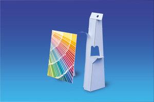 Kartonnen kaartsteun met tape - 250mm