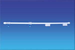 Bannerhouder  Pvc - 2 zelfklevende basissen - Lengte 450mm