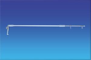 Telescopische Bannerhouder voor wandrail - Van 600 tot 750mm - Max : 250gr