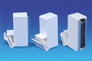 Promobase® paneelhouder wandvariant -25° - Paneeldikte: 3mm