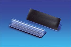 Transparante magnetische Supergrip - 150x25x9mm - Dikte max 2mm