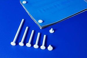 Ophangoog voor metalen busschroef  - Ø5mm - Metaal - Zilver