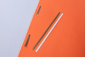 Snelhechter  - PVC - Afmeting 4,5x165mm - Wit