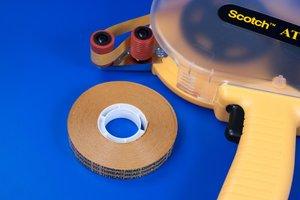 Dubbelzijdige zelfklevende transfertape voor FOA13  - Breedte 12mm - Dikte 1mm - Permanente tape