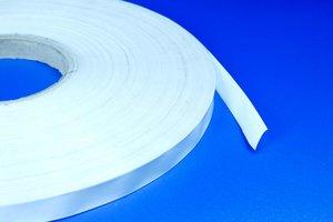 Dubbelzijdige zelfklevende vliestape  - Breedte 13mm - Dikte 1mm - Permanente tape - Transparant