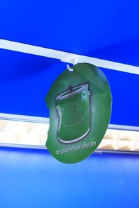 Zelfklevende vierkante plafondhaak met ophanghaak  - Afmeting25x25mm - Capaciteit 8mm