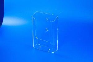 Folderbakje met 2 ophangoogjes  - PS- Formaat A6 - Transparant