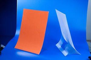 Folderhouder  - PVC - Formaat A4 - Transparant