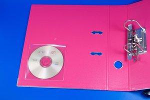 CD-hoes met zelfklevende sluiting - Pochette - PVC - Transparant