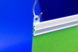 Klikprofiel   - PVC - Lengte 1000mm - Wit