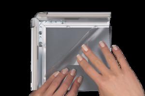 Beschermvel anti-reflex voor stoepbord - Formaat 700x1000mm