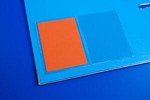 Zelfklevende pochette met korte zijde open  - PP - Formaat A7 - Transparant