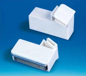 Magnetisch blok paneelhouder schuine presentatie