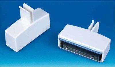 Magneetblok met clip Promobase met 1 clip