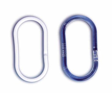 Ovaal pvc ring w. 50mm