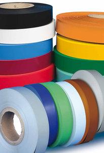Decorative roll van pvc geel-p.e 40mm