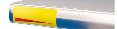 Prijskaarthouder transparant voor schap p25-40x65mm