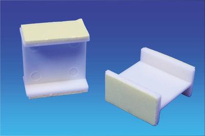 Spacer pvc - 25x26x13mm - permanent adhesive